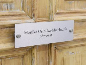 Kancelaria Adwokacka Monika Osińska-Majchrzak